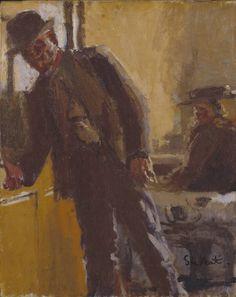 Walter Richard Sickert, 'Off to the Pub' 1911