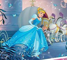 Cinderella and her pumpkin carriage with horses to the castle Arte Disney, Disney Magic, Disney Pixar, Disney Characters, Cinderella Wallpaper, Disney Wallpaper, Old Disney, Disney Love, Doraemon Cartoon