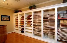 Superb I Like The Shelf System   Would Save Money On Not Finishing Walls In A  Garage. Showroom DesignShowroom ...