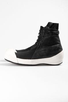 Visions of the Future: washed horse leather shoes - LOST & FOUND - Layers London