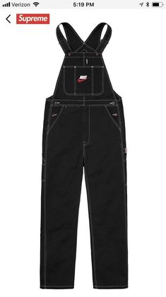 d1634ce876832e Supreme Nike Overalls  fashion  clothing  shoes  accessories  mensclothing   pants (