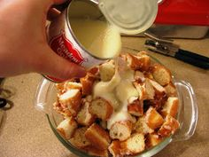 From my tiny kitchen...: Krispy Kreme Bread Pudding