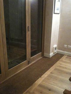 Back door with inset mat for <a href='/halohoney/' title='Rachel Thomas'>@Rachel Thomas</a>