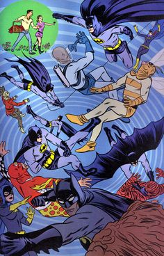 Batman by Mike Allred