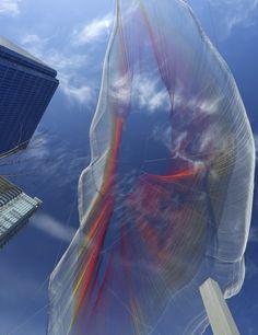 Aerial Sculpture in Vancouver - Janet Echelman