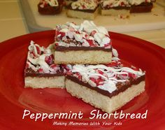 Peppermint Shortbread - This One's a Keeper! - Making Memories With Your Kids