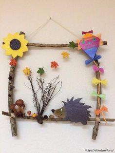 Basteln Mit Kindern arşivleri – Bastelideen 💡 Handicrafts with children arşivleri – handicraft ideas 💡 Autumn Crafts, Fall Crafts For Kids, Nature Crafts, Diy For Kids, Kids Crafts, Diy And Crafts, Arts And Crafts, Paper Crafts, Leaf Crafts