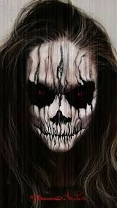 scary make up - Google Search