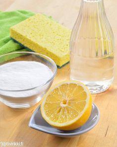 Millä siivota ekologisimmin? Tehoavatko ekologiset pesuaineet yhtä hyvin kuin järeät siivousaineet? Asiantuntijan mukaan ekologisimmat puhdistusaineet löytyvät joikaisen ruokakaapista.