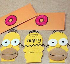 Invitation anniversaire gratuite imprimer simpson avec - Anniversaire simpson ...