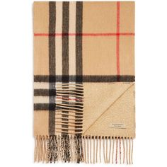 Burberry Reversible Metallic Check Scarf (2.825 RON) ❤ liked on Polyvore featuring jewelry, burberry jewelry, burberry and metallic jewelry