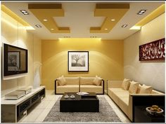 100 False Ceiling Designs For Living Room   Home And Garden   YouTube