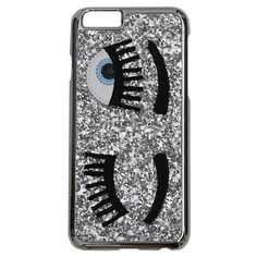 Chiara Ferragni 'Flirting' Case for Iphone 6 (1,790 DOP) ❤ liked on Polyvore featuring accessories, tech accessories, silver and chiara ferragni