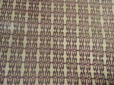 tissu wax africain vert et marron