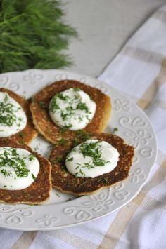 Fit placki ziemniaczane - pomysł na zdrowy obiad Avocado Toast, Lunch, Dinner, Healthy, Breakfast, Fitness, Recipes, Food, Diet