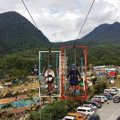 Hamster cable ride.   #Adventure #wander #travel #wanderlust #explore #mountain #highland #nature #naturelover #adventuretime #Philippines Golden Gate Bridge, Adventure Time, Philippines, Cable, Wanderlust, Mountain, Explore, Photo And Video, Nature