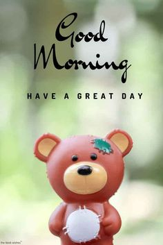 The Best Wishes: Cute Good Morning Teddy Bear Images Cute Good Morning Pictures, Sweet Good Morning Images, Good Morning Beautiful Quotes, Good Morning Quotes For Him, Good Morning Images Download, Good Morning Love, Good Morning Messages, Good Morning Greetings, Morning Pics