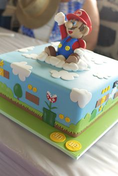 Mario Cake! by Mr Azza, via Flickr