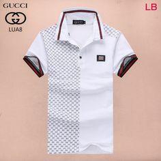 76f563d047 Gucci POLO shirts men-GG24369 Azul Escuro