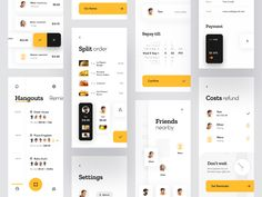 Every day most digital designers look for inspiration on sources like Dribbble or Behance for mobile and webdesign UI/UX works. Design Ui Ux, Layout Design, Application Ui Design, Ui Design Mobile, Design Social, User Interface Design, Mobile Ui, Mobile App Design Templates, Iphone Mobile