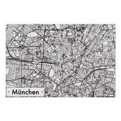 München Karte Schwarz Weiß.Die 96 Besten Bilder Von Poster In 2019 Zeichnungen Illustration