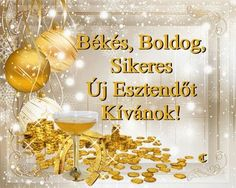 Újévi képeslapok / New Year 61 Képeslapküldő galéria /e-card . Happy New Year 2019, New Year 2020, Wallpaper Space, Merry Christmas Card, New Year Greetings, Heart Art, New Years Eve, Alcoholic Drinks, Happy Birthday