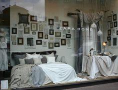 Zara Home Store Milan 2012 Collection ~ Zara Home Bedroom Windows Furniture, Bedroom Sets, Zara Home Bedroom, Luxury Bedding Master Bedroom, Bed Linens Luxury, Home Decor, Shop Interiors, Bedding Stores, Zara Home Window Display