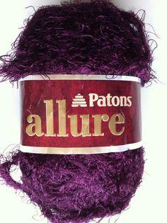 Patons ALLURE RUBY 04405 dyelot 136685 Crochet by dcoyshouseofyarn