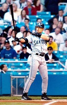 Ichiro Suzuki, Ken Griffey, Sport Icon, Sport Body, American League, Seattle Mariners, Baseball Players, Rugby, Athlete