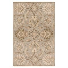 Found it at Wayfair - Camden Turtle Green Floral Area Rug