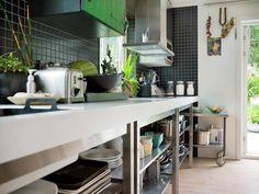 Swedish Home Set Within Lush Greenery | Inthralld