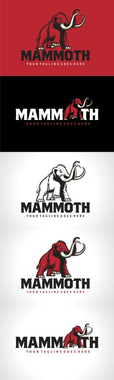 MAMMOTH. Logo Templates. $30.00