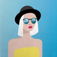 Minimalism & Precision: Striking and colourful illustrations that pop by Irina Kruglova | Creative Boom