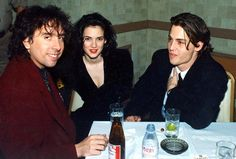 johnny,tim & winona - johnny-depp Photo