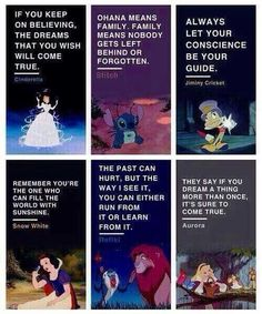 What the Disney characters we love say to the viewers