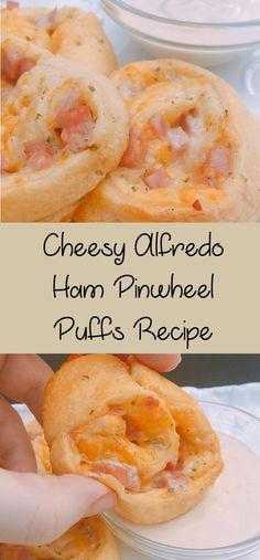 Cheesy Alfredo Ham P