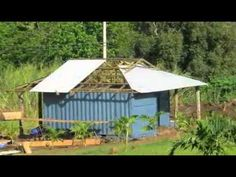 How to make a Shipping container house on Maui