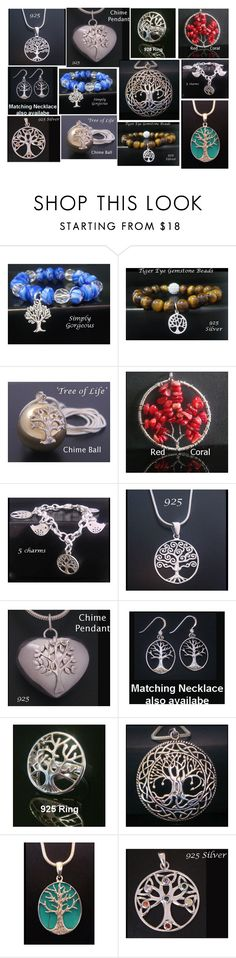 """""""Tree of Life Jewelry collage 2 #mytreeoflifejewelry"""" by my-tree-of-life ❤ liked on Polyvore featuring Harmony Ball Company"""