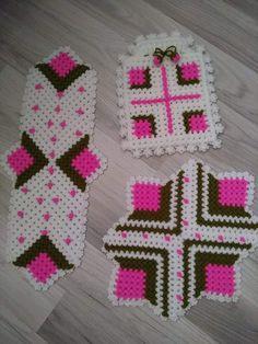 Odd Molly, Kare Kare, Knitting Patterns, Crochet Patterns, Crochet Granny, Doilies, Elsa, Diy Crafts, Blanket