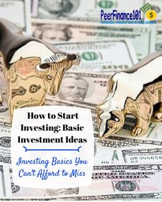 How to start #investing with two investment ideas everyone should know. Two strategies to finally make money investing for beginners and experts.