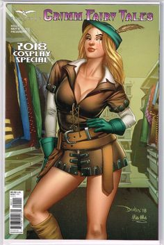 Vault 35 Robyn Hood The Curse #6 Cover F 1//500 NM 2018 Zenescope