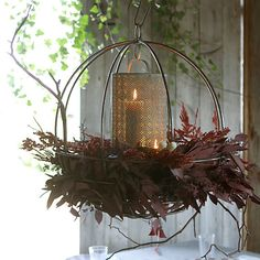 Sphere Hanging Basket