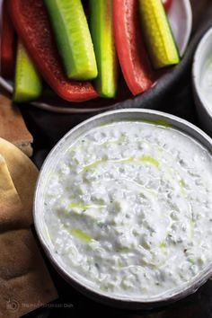 Tzatziki Sauce | The Mediterranean Dish