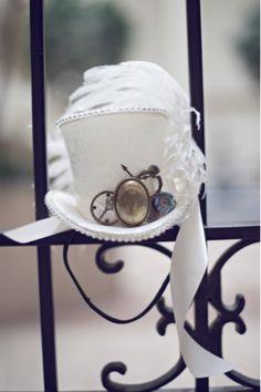 Steampunk wedding hat