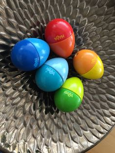 Set of 5 colourful beechwood eggs. Each makes a delightfully different sound when shaken. Safe non, toxic paint. Perfect to teach young children music and rhythm. Age 2+ Children Music, Music For Kids, Young Children, Musical Toys For Kids, The Fosters, Musicals, Eggs, Paint, Color