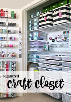 The Craft Closet (of my dreams) Reveal!