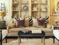 """Color-Happy Chambeige Huesday!  As Jonathan Adler would say, """"beige with a buzz."""""""