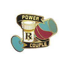 Power Couple Pin by Mirthlings