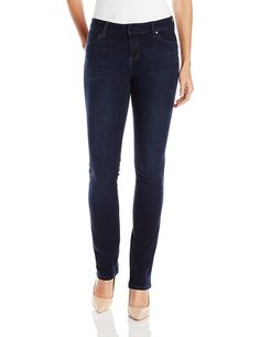 Liverpool Jeans Company Women's Simone Hugger Jean In Blackout Blue *** See this great product.