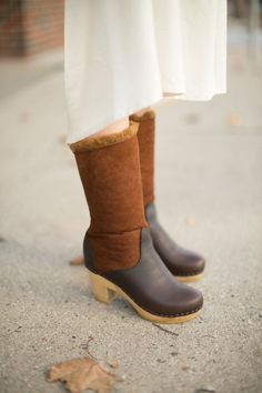 "No. 6 - Golden 9"" Shearling Boot 